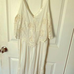 ASTR handkerchief silk blend dress medium